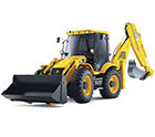 JCB construction vehicle